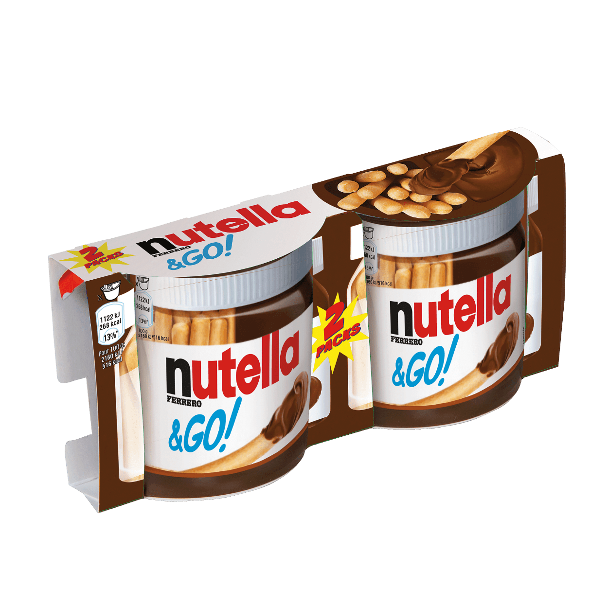Nutella & Go voordelig bij ALDI