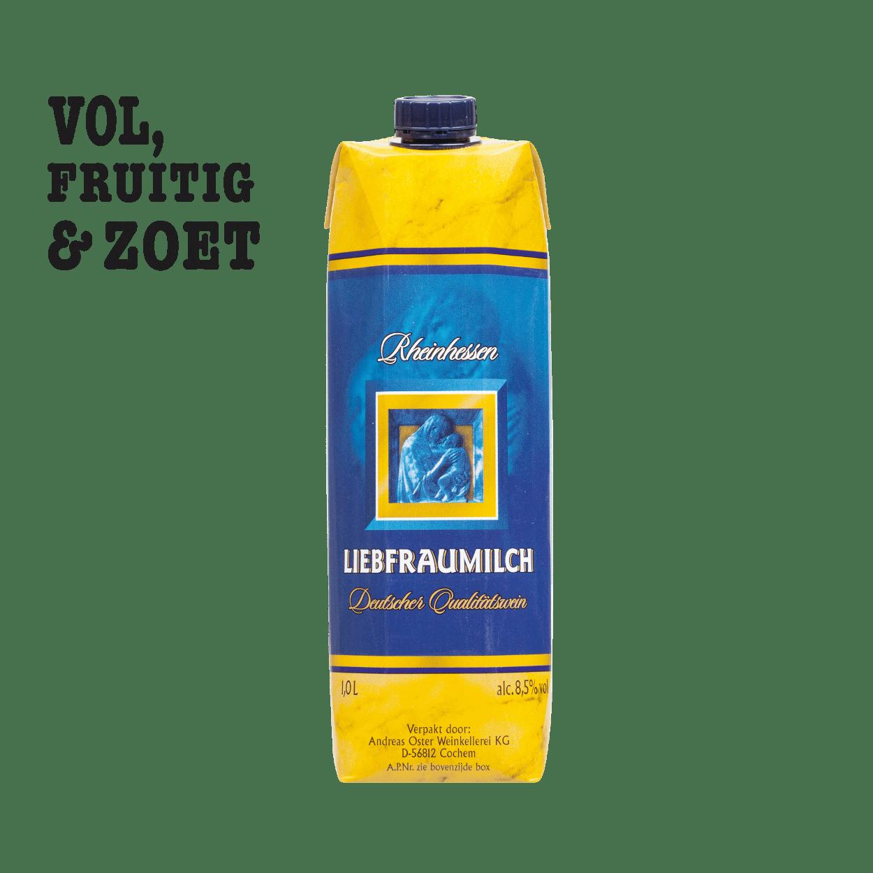 liebfraumilch liter voordelig bij aldi